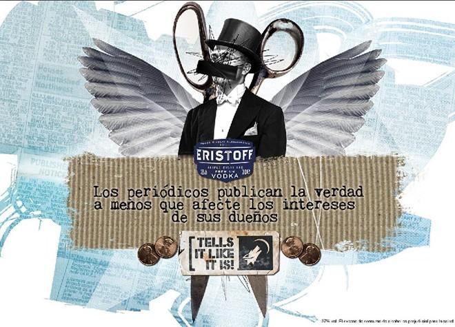 Eristoff – Tells it – Newspaper