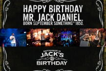 Jack Daniel's – B-Day Promo
