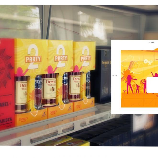 Barcadi 2 party packaging
